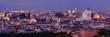 Rome skyline night view