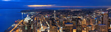 Seattle Rooftop Panorama