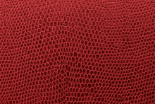 Red Leather Background Texture.