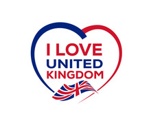 I Love United Kingdom With Out...