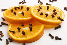 Orange Slices Peppered With Sp...