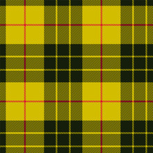 Scottish Plaid, Black Bands On...