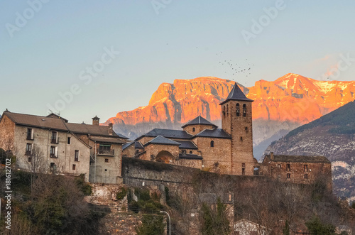 Canvas Print Torla, Huesca, Aragón, Spain, Europe