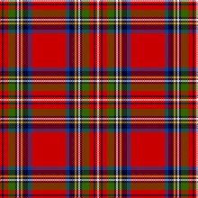 Scottish Plaid. Royal Stewart ...