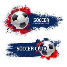 Soccer Ball Banner Set, Footba...