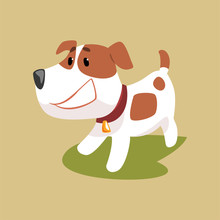 Jack Russell Puppy Character S...