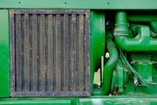 The Old Green Tractor Engine