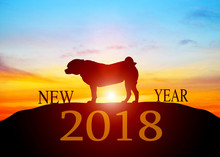 2018 Dog Year Zodiac. New Year...