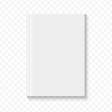 Clear White Blank Book Cover T...