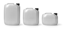 White Canister Isolated