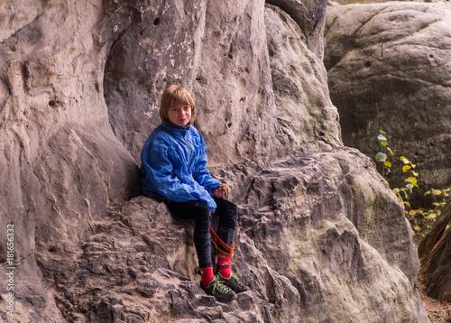 Foto op Plexiglas Alpinisme Mädchen