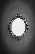 Baroque, Victorian Mirror On A...