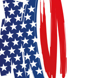 Drapeau - Américain - État-U...