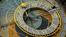 Astronomical Clock Tower Detai...