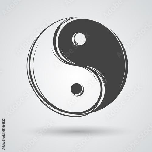 Vászonkép  Yin yang symbol