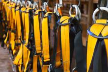Climbing Safety Belt. Mountaineering Equipment