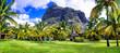 Luxury holidays in Mauriius island
