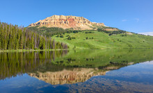 Beartooth Butte Mountain And B...