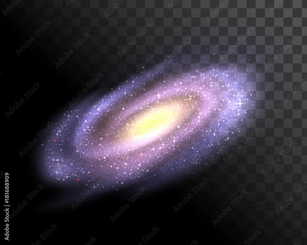 Fototapety, obrazy: Vector galaxy