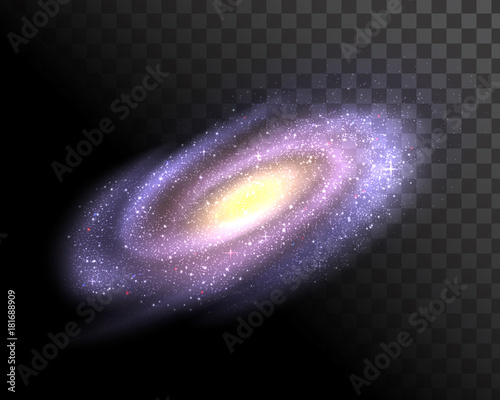 Obraz Vector galaxy - fototapety do salonu