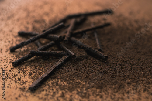 chocolate sticks - 181698157