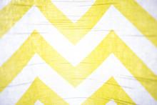 Yellow Chevron Fabric Pattern