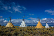Native American Tee Pees