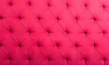 Pink Textile With Buttons