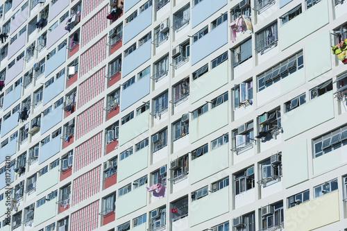 Public Estate in Hong Kong Poster