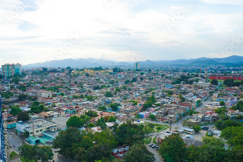 Deurstickers Toscane Santiago de Cuba at Sunset