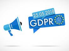 Mégaphone : GDPR 25 05 2018
