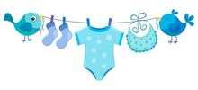 Line With Clothing For Baby Boy