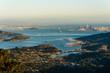 San Francisco Bay Blick vom Mount Tamalpais
