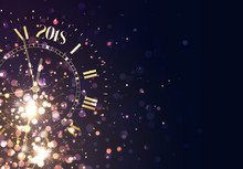 2018 New Years Background Vint...