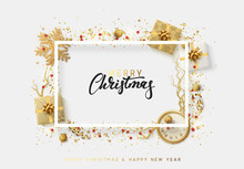 Christmas Bright Background Wi...