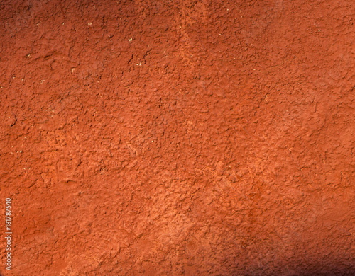 Fotografie, Obraz  Textura de pared roja