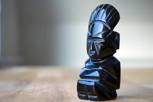 An Aztec Obsidian Ancient Stat...