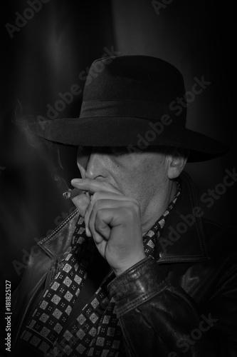 Fototapety, obrazy: Portrait of middle-aged men