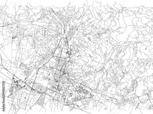 Cartina Italia Brescia.Strade Di Brescia Cartina Della Citta Lombardia Italia Stradario Stock Vector Adobe Stock