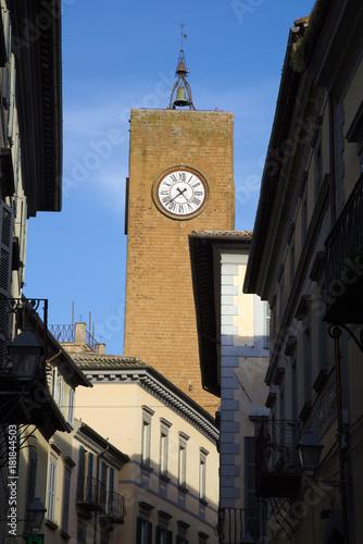 Foto  Torre del moro ad Orvieto, Lazio, Italia