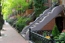 Boston South End Architecture
