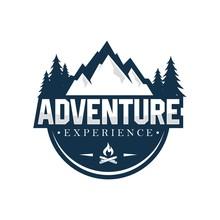Outdoor And Adventure Logo Des...