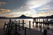 Sunset Lake Atitlán