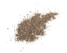 Ground Black Pepper Isolated O...