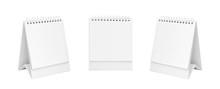 White Blank Paper Desk Spiral ...