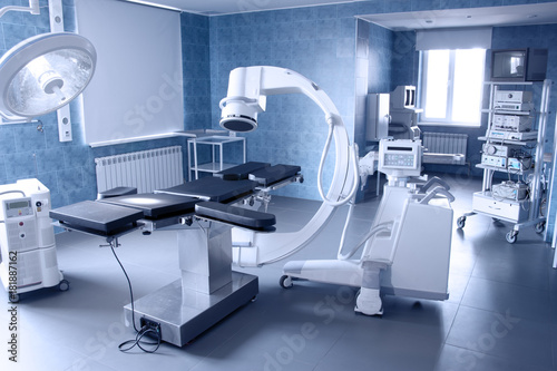 hospital operating. medical equipment. Canvas-taulu