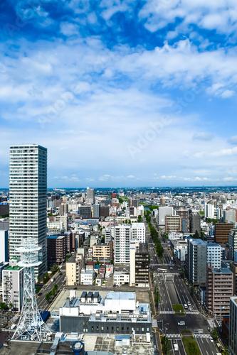 Foto op Plexiglas Japan 札幌市 都市風景