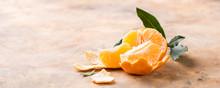 Fresh Peeled Mandarin With Dre...