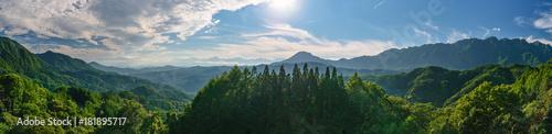 Foto auf Gartenposter Gebirge 北アルプスの絶景