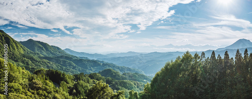 Keuken foto achterwand Natuur 北アルプスの絶景